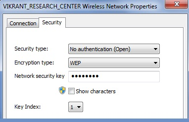 sicurezza wireless Aperto