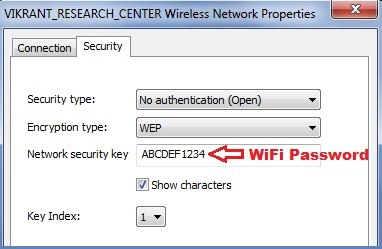 Password View WiFi