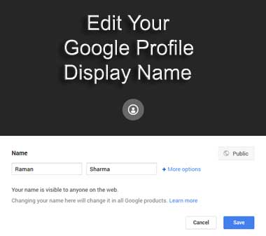 how to change your profile picture on google plus