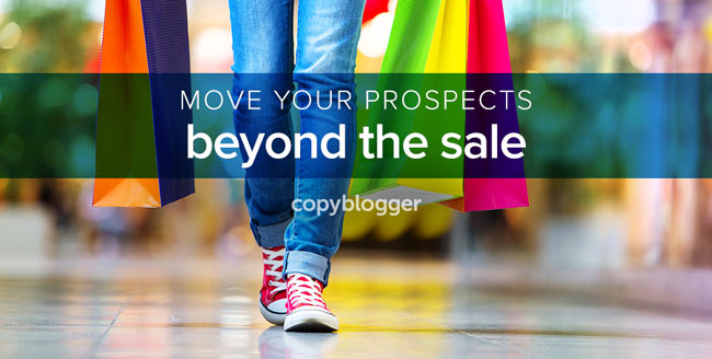 move your prospects beyond the sale