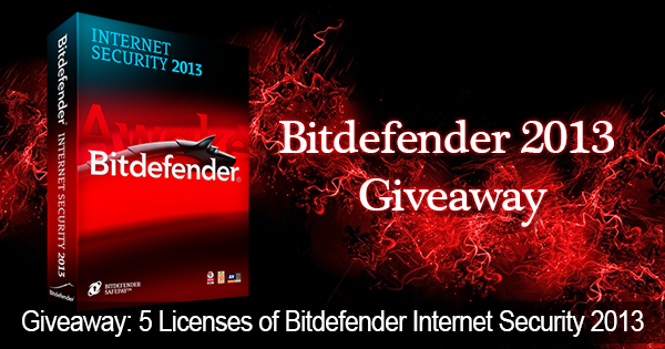 Bitdefender Giveaway di sicurezza Internet