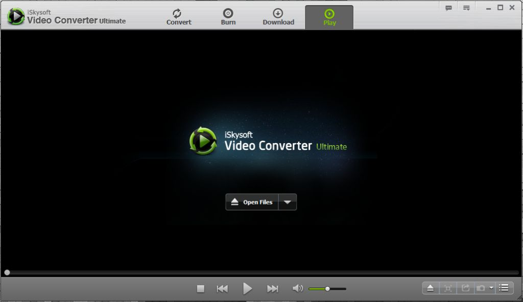 iSkysoft In-built Video Player