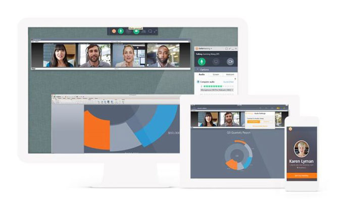 Servizio GoToMeeting Video Conferencing