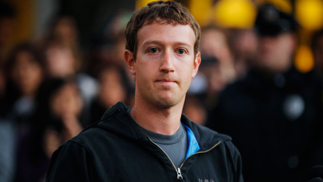 Mark Zuckerberg è il fondatore di Facebook.