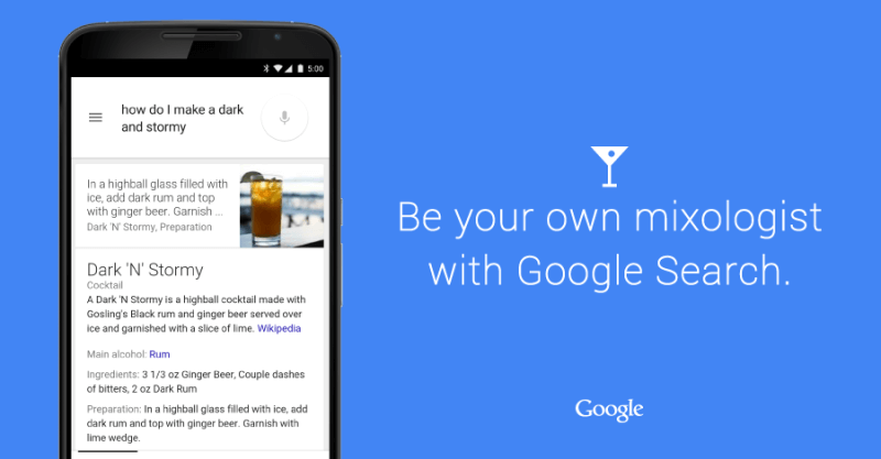 Google Ricerca cocktail