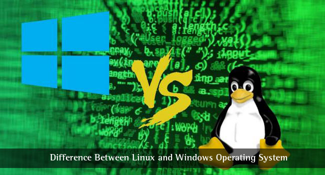 Differenza tra Linux e sistema operativo Windows