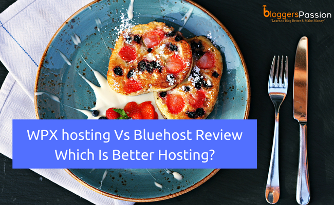 WPX di hosting Vs Bluehost recensione